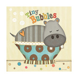 Tiny Bubbles Print by Jo Moulton