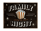 Familly Night Prints by Jo Moulton