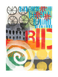 Abstract Ride Posters by Linda Woods