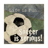 Soccer Prints by Jo Moulton