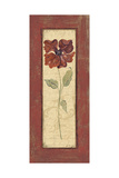 Crimson Petals II Prints by Jo Moulton