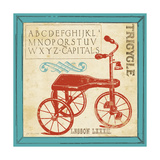 Vintage Tricycle Premium Giclee Print by Jo Moulton