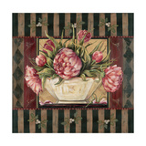 Peony Stripe Prints by Jo Moulton