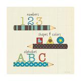 School Basics Premium Giclee Print by Jo Moulton