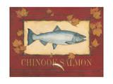 Chinook Bass Art by Stephanie Marrott