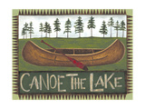 Canoe on the Lake Lámina giclée premium por Cindy Shamp