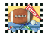 Football Prints by Kathy Middlebrook