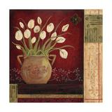 Villa Tulips Premium Giclee Print by Jo Moulton