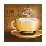 Frothy Cappuccino Plakaty autor Kathy Middlebrook
