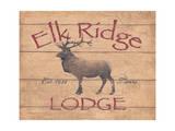 Elk Ridge Poster by Stephanie Marrott