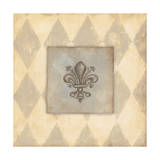 Fleur De Lis III Poster by Stephanie Marrott