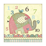 Number Elephant Art by Jo Moulton