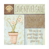 Love Never Fails Premium Giclee Print by Jo Moulton
