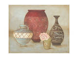 Four Vases Prints by Stephanie Marrott