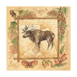 Moose Prints by Anita Phillips