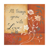 Grow with Love Prints by Kim Lewis