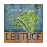Lettuce Prints by Kim Lewis