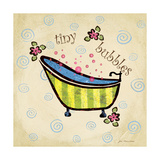 Tiny Bubbles Prints by Jo Moulton