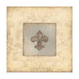 Fleur De Lis V Print by Stephanie Marrott