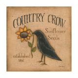 Country Crow Affiches par Kim Lewis