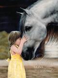 Kysset Premium Giclee-trykk av Leslie Harrison