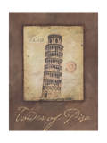 Tower of Pisa Print by Stephanie Marrott