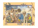 L'Arca di Noè Poster di Anita Phillips