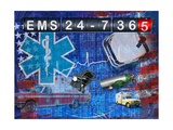 Ems 24-7 365 Posters by Jim Baldwin