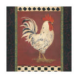 White Rooster Posters by Stephanie Marrott
