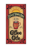 Start Your Day Posters by Kim Lewis