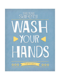 Wash Your Hands Posters by Jo Moulton