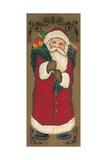 Santa Clause Prints by Kim Lewis
