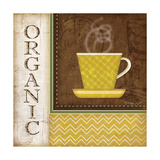 Organic Coffee Prints by Jennifer Pugh