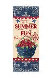 Summer Fun Poster by Jo Moulton