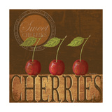 Sweet Cherries Posters by Kathy Middlebrook