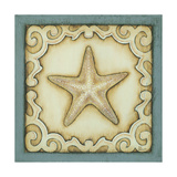 Cottage Starfish Art by Kim Lewis