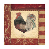 Red Rooster IV Prints by Jo Moulton