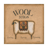Wool Rugs Prints by Kim Lewis