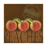 Delicious Peach Prints by Kathy Middlebrook