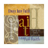 Funky Faith Posters by Lisa Wolk