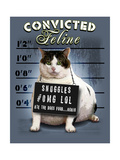 Convicted Feline Posters by Jim Baldwin