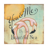 You and Me Premium Giclee Print by Kim Lewis