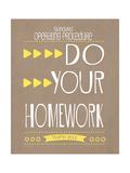 Homework Art by Jo Moulton