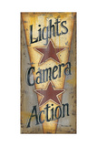 Lights, Camera, Action Posters by Kim Lewis