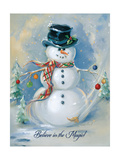 Snowman Magic Posters by Susan Comish
