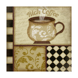 Rich Coffee Print by Jennifer Pugh
