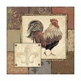 Rooster I Prints by Jo Moulton