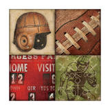 Football 4 Patch Posters by Stephanie Marrott