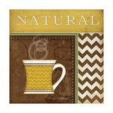 Natural Organic Coffee Prints by Jennifer Pugh