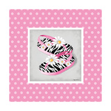 Wild Child Flip Flop Print by Kathy Middlebrook